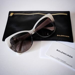 Balenciaga Gradient Cat Eye Sunglasses